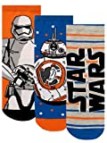 Star Wars Jungen Socken Packung mit 3 Mehrfarbig 31-36