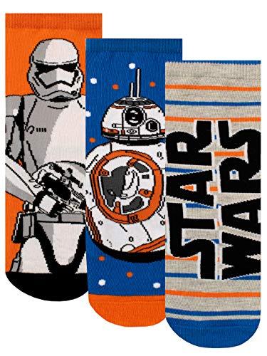 Star Wars Calcetines Paquete de # para Niños Multicolor 37-40