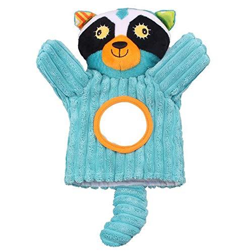 N / A Marionetas de Mano de Animales Muñeca de iluminación de educación temprana Juguetes Los Padres juegan Incluso Juguetes interactivos Entre Padres e Hijos 28cm