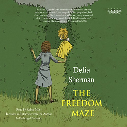 The Freedom Maze audiobook cover art