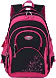Cartable fille, Coofit Sac a dos fille en Oxford Cartable enfant primaire Sac ecole...