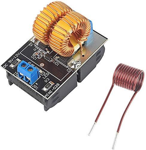 ICQUANZX 5V ~ 12V Nullspannungsumschaltung ZVS Induktionsheizungs-Stromversorgungsmodul + Spulenstromversorgungs-Heizungsstromversorgungsmodul