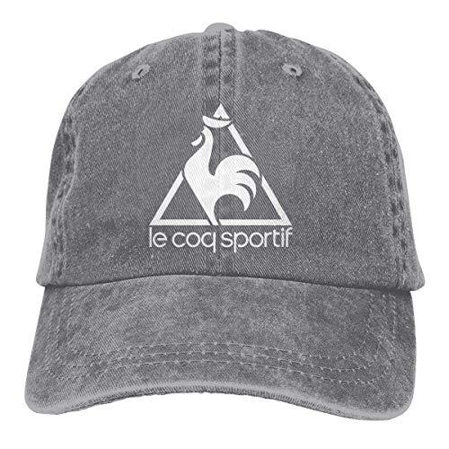 Unisex Le COQ Sportif Logo Dad Hat Adjustable Pigment Dyed Baseball Caps...