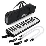 Eastar 鍵盤ハーモニカ ホース+唄口セット 32鍵 (ブラック)