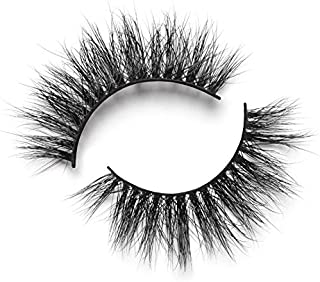 Lilly Lashes 3D Mink Hollywood | False Eyelashes | Dramatic Look and Feel | Reusable | Non-Magnetic | 100% Handmade & Cruelty-Free