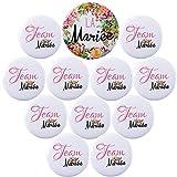 """Kit de Accessoire de Mariage 1pcs Badge """"La mariée"""" + 11pcs Badges..."""