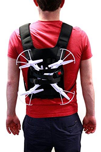 DURAGADGET Mochila Arnés Ajustable para tranporte de Dron dji Phantom Inspire 1   2