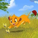 GUANGMANG Jigsaw Puzzle 1000 Pieces Carteles De Películas El Rey León Simba-Gloria del Rey León Rompecabezas,Rompecabezas para Suelo, Niños Y Adultos,75X50Cm