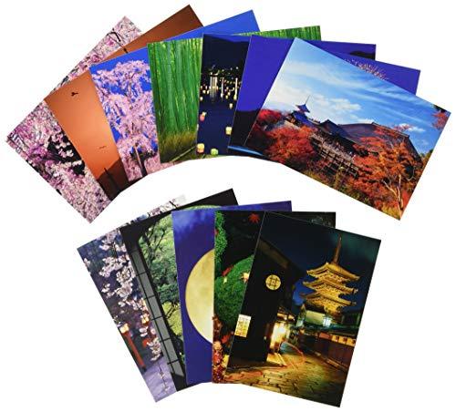 ピンナップ 人気柄 ポストカード 12種 各1枚 計12枚 セット 京都