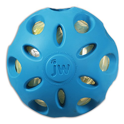 JW Pet Crackle Heads Crackle Ball, Large