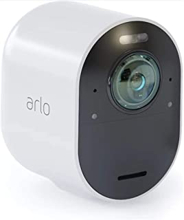 Arlo Technologies Ultra-4K UHD Add-on Camera, Colour Night Vision, 180° View, 2-way Audio [Base Station not Included] (VMC...
