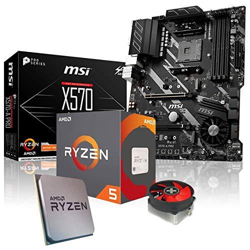 Memory PC Aufrüst-Kit Bundle AMD Ryzen 5 3600 6X 3.6 GHz, 32 GB DDR4, MSI X570-A Pro, komplett fertig montiert inkl. Bios Update und getestet