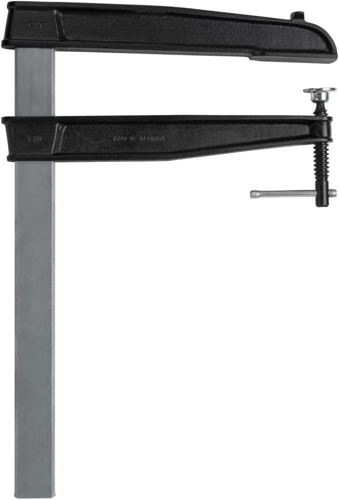 Grey//Black Bessey TGN40T20K TGNT-K Deep Throat Clamp 400//200 mm
