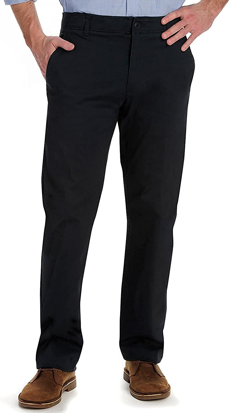 Lee Men's Performance Series Stretch Max 41% Free Shipping New OFF Khaki Pant Carefree