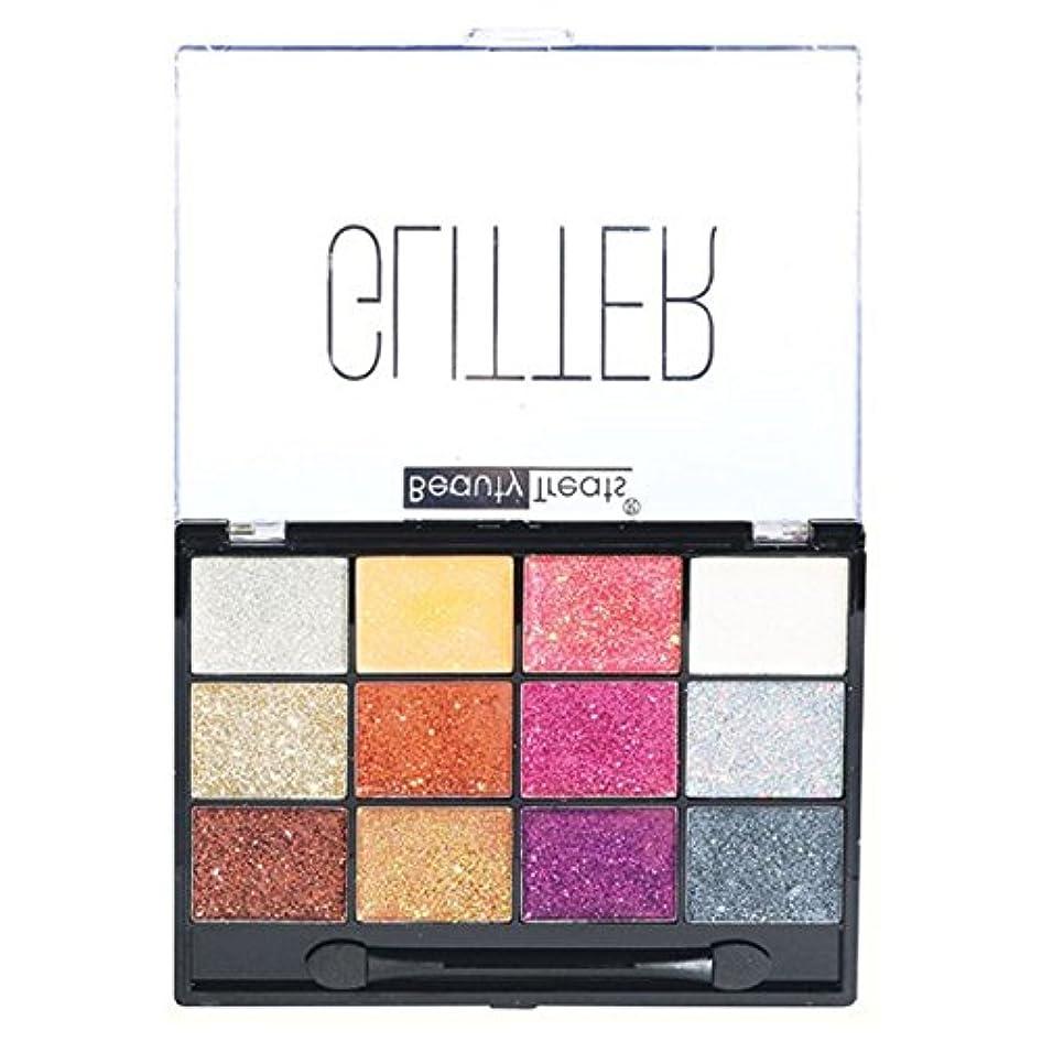 美的ジェット再集計(3 Pack) BEAUTY TREATS Sparkle Glitter Palette 2 (並行輸入品)