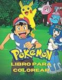 Pokemon Libro para colorear: 50 increíbles páginas para colorear para niños y adultos imágenes nuevas y más recientes de alta calidad y premium para dibujar.
