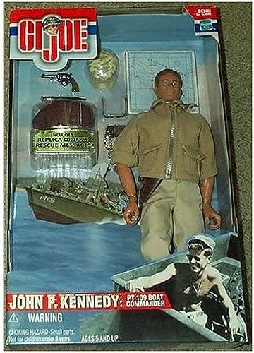 GI Joe John F. Kennedy 12 Action Figure PT 109 Boat Commander