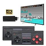 4K Wireless Game Console, Mini Retro Controller HDMI Output Dual Handle, Mini Arcade Game Machine, Built in 628 Classic Game