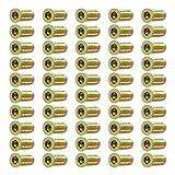 50 Stück Einschraubmutter M6 M8 mit Innensechskant, Gewindeeinsatz für Holzmöbel (M6*25)