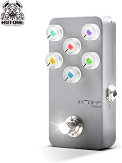 Hotone XTOMP Mini Multi Effects Pedal Bluetooth Modeling for Guitar Bass Keyboard Synth Synthesizer