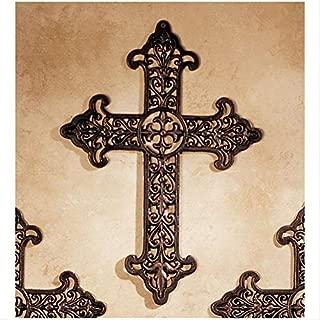 Design Toscano Fleur de Lis Cross