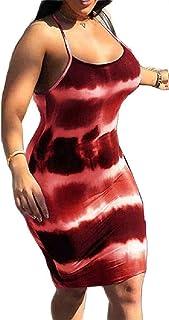 UUYUK Women Dress Sexy Short Bodycon Party Sleeveless Pencil