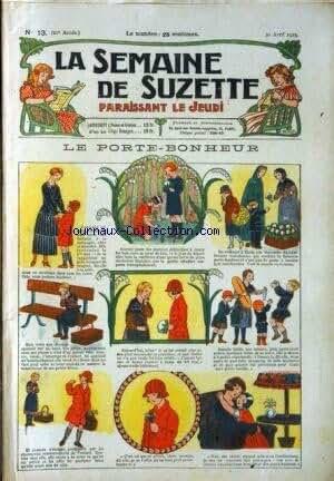 SEMAINE DE SUZETTE (LA) [No 13] du 30/04/1925 - LE PORTE-BONHEUR - BECASSINE
