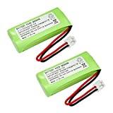 2 Pack Fenzer Cordless Phone Batteries for Uniden BT-101 BT-1011 BT-1018