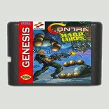Taka Co Contra Hard Corps NTSC-U 16 bit MD Game Card For Sega Mega Drive For Genesis