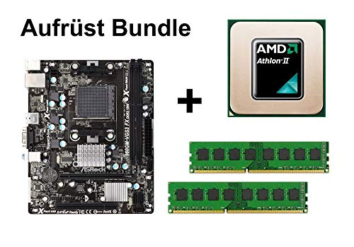Aufrüst Bundle - ASRock 960GM-VGS3 + Athlon II X4 640 + 4GB RAM #75252