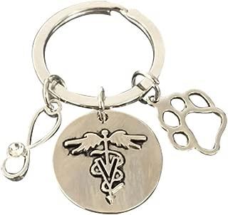 veterinary keychain