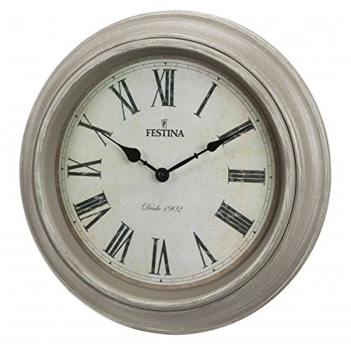 Festina - Reloj de Pared FC0123 - Beige