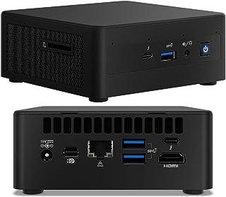 "Intel NUC i7-1165G7 4.7GHz 2xDDR4 M.2 & 2.5"" SSD 4xDisplays HDMI USB-C mDP Intel Xe Graphic GbE LAN WiFi6 BT VESA 2xTB3 no..."
