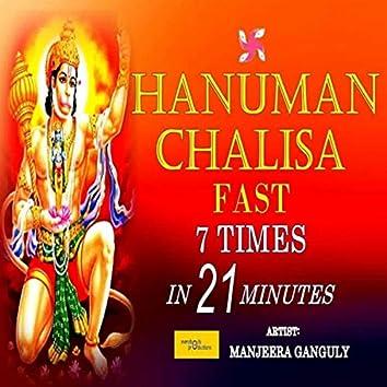 Hanuman Chalisa Fast 7 Times in 21 Minutes