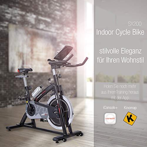 Sportstech Profi Indoor Cycle SX200 Hometrainer Fahrrad Bild 6*