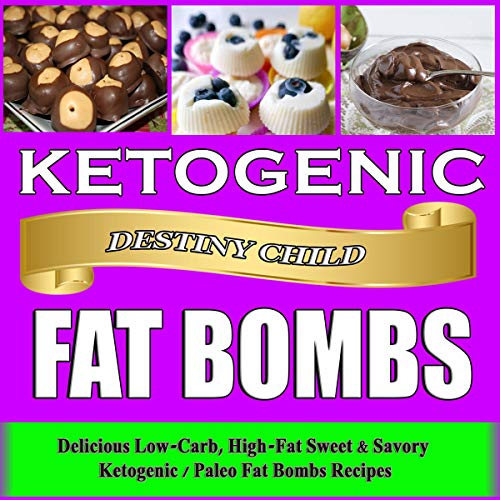 Ketogenic Fat Bombs cover art
