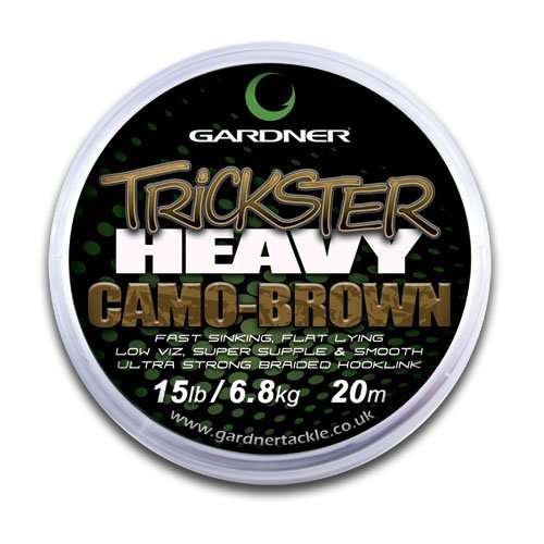 GARDNER TRICKSTER HEAVY CAMO GREEN 25lb (11.3kg) by Gardner Tackle