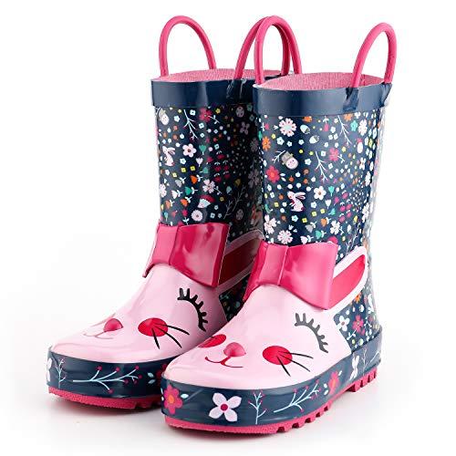 Kids Girl Rain Boots