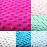 4L Textil Minky Stoff Meterware Polyester 100% Stoffe zum