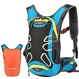 Vbiger 15L Zaino da escursione Zaino idratazione impermeabile Daypack leggero per ciclismo all'aperto per uomini e donne(Azzurro)