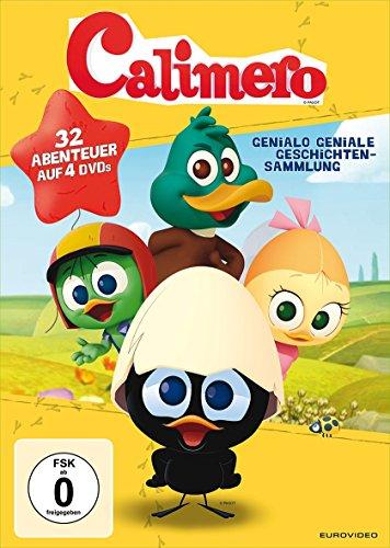 Calimero - Genialo geniale Geschichtensammlung [4 DVDs]