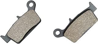 CNBK Rear Brake Shoe Pads Semi-Metallic fit KAWASAKI Dirt Bike KX125 KX 125 K2-K4 95 96 97 98 1995 1996 1997 1998 1 Pair(2 Pads)