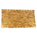 SudoreWell® Wellness Badematte Saunamatte aus Bambus 80 x 50 cm