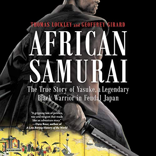 African Samurai audiobook cover art
