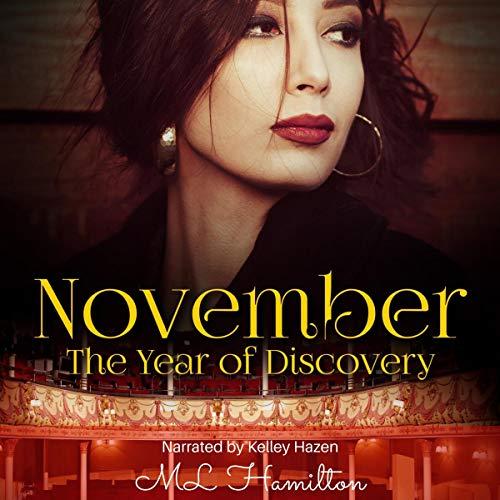 November audiobook cover art