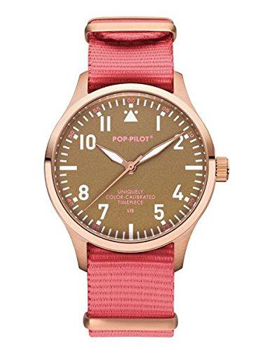 Pop Pilot Unisex Analog Quarz Smart Watch Armbanduhr mit Stoff Armband LIS