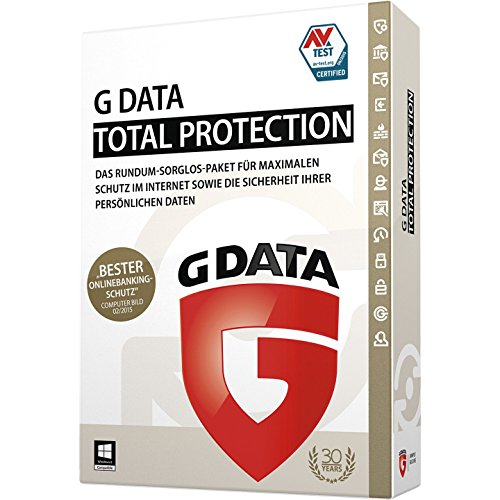 G Data Total Protection 2015 - 1 PC [import allemand]