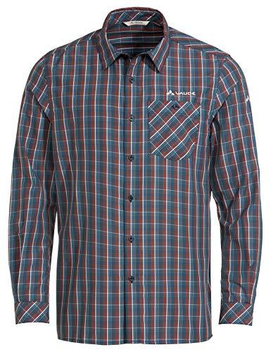 VAUDE Herren Hemd-Bluse Men's Albsteig LS Shirt II, Steelblue, XXL, 41809