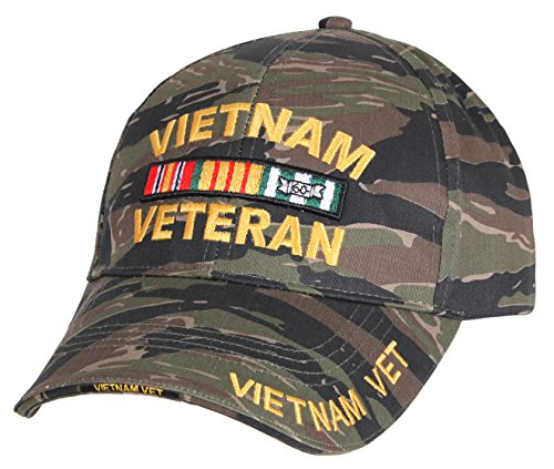 Rothco Deluxe Low Profile Vietnam Tiger Stripe Cap