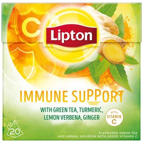 5 x Lipton Immune Support Green Tea Tee (5 x 20 Teebeutel)